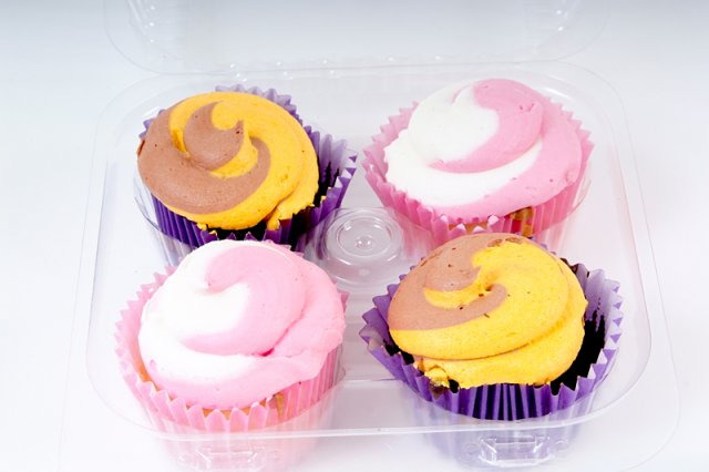 Assorted Cupcakes 4pk
