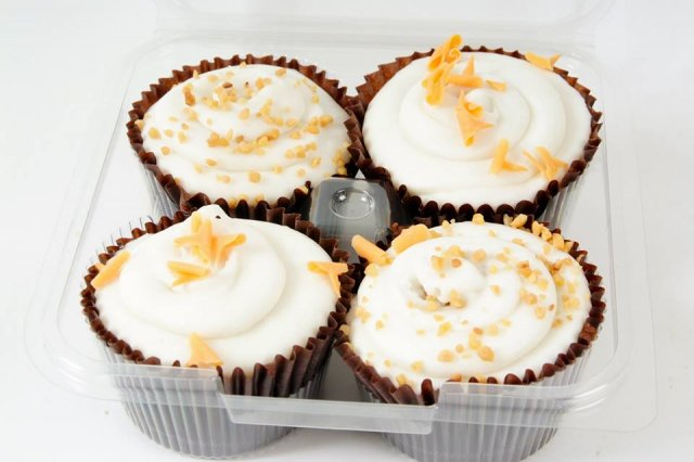 Carrot Cake Cupcakes 4pk