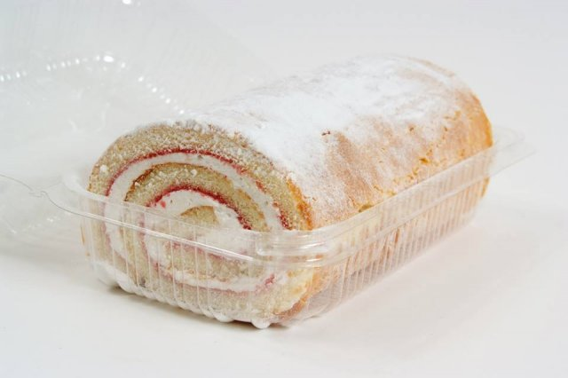 Large Jam and Cream Swiss Roll