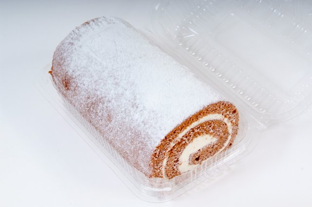 Large Chocolate Swiss Roll