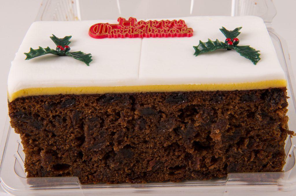 Christmas Rich Fruit Bar Cake
