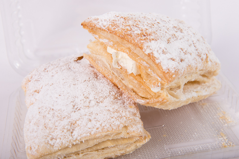 Jam and Cream Puffs 2pk