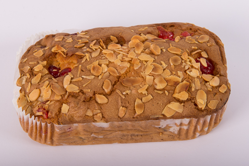 Large Cherry and Almond Cake
