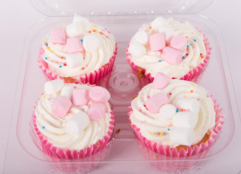 Luxury Cupcakes 4pk