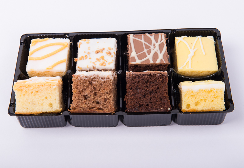 Assorted Sponge Squares 8pk