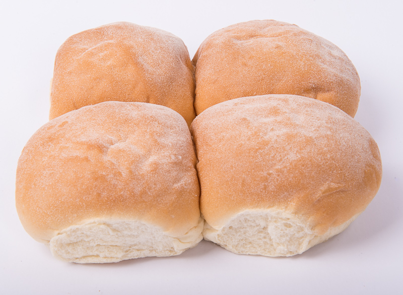 Burger Baps 4pk sliced and unsliced