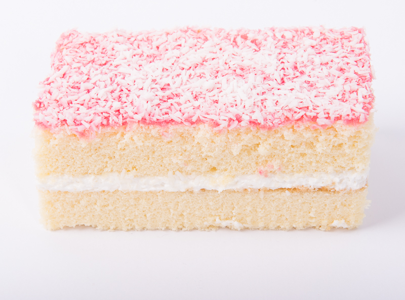 Jam and Coconut Cream Cake